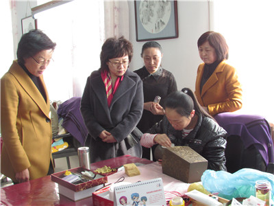 省妇联副主席董濮就农村妇女参选参政工作到我市绥棱县调研
